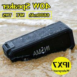 40W bluetooth Speaker Wireless Portable Waterproof Subwoofer