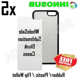 5x INNOSUB Sublimation Blank Dye Cases For iPhone 11 11 Pro