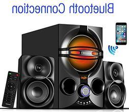 Boytone - Powered Wireless Speaker System  - Black