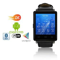 Indigi Android 4.4 3G Unlocked SmartWatch & Phone WiFi + GPS