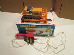 BATTERY OPERATED BULLDOZER AIR REMOTE CONTROL ** MIB **  WOR
