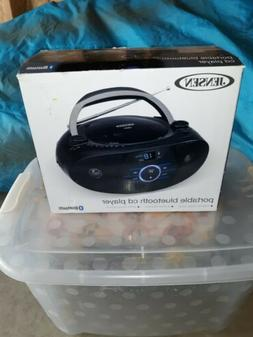 Jensen Bluethooth Portable CD Player AM/FM radio boombox