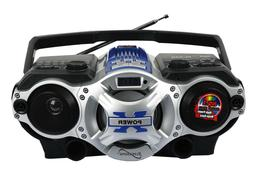 Supersonic Bluetooth Portable Boombox AM/FM Radio/MP3 Player