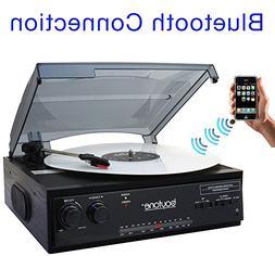 Boytone BT-13B Bluetooth Connection 3-Speed, Turntable Belt