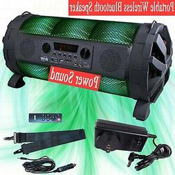 "DOUL 8"" Portable Wireless Stereo DJ Bluetooh Speakers Boombo"