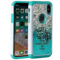 SKYFREE iPhone X Case Bible Verse, Christian Quotes Philippi