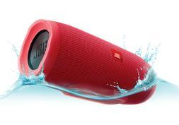JBLCHARGE3RED JBL Charge 3 Waterproof Portable Bluetooth Spe