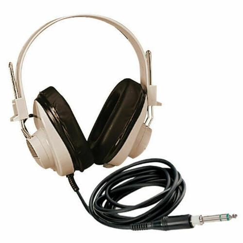 Califone 2924AV, Monaural Headphone with a straight 6' cord