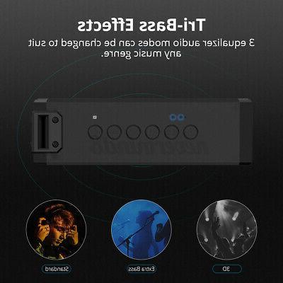 40W NFC Wireless Waterproof Subwoofer AM/FM