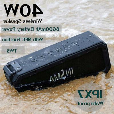 40W bluetooth NFC Portable Subwoofer AM/FM