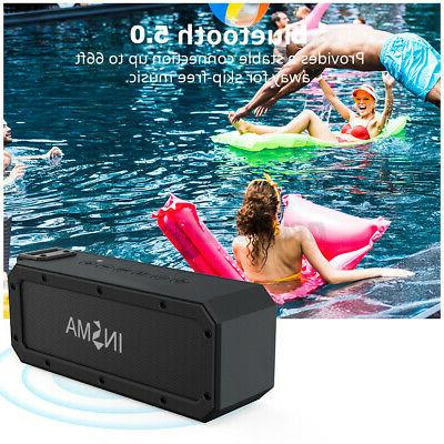 40W Speaker NFC Wireless Portable Waterproof Subwoofer AM/FM