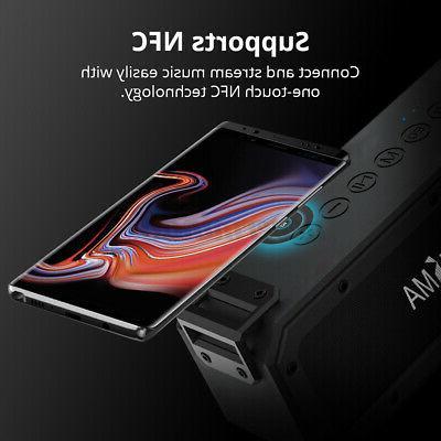 40W Speaker NFC Portable Waterproof Subwoofer Stereo