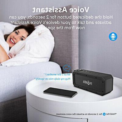 40W Speaker Portable Waterproof Subwoofer Stereo NFC
