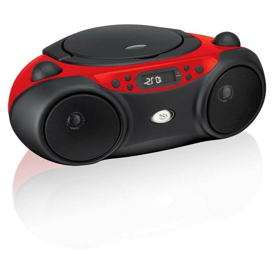 am/fm cd boom box | gpx boombox player radio with portable p