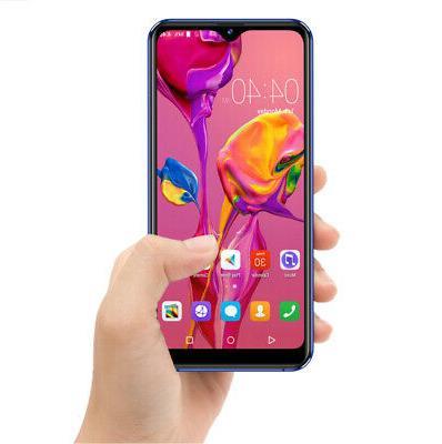"GSM UNLOCKED 4G LTE 6.29"" Waterdrop Screen Smart Phone Andro"