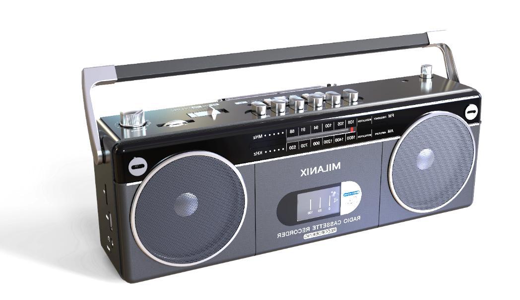 Bluetooth Portable Recorder AM/FM