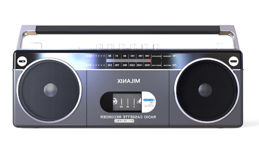 bluetooth portable cassette player recorder boombox am