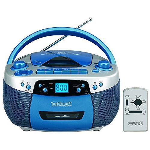 Hamilton Boom Box for USB, MP3, CD, Cassette and AM/FM Radio