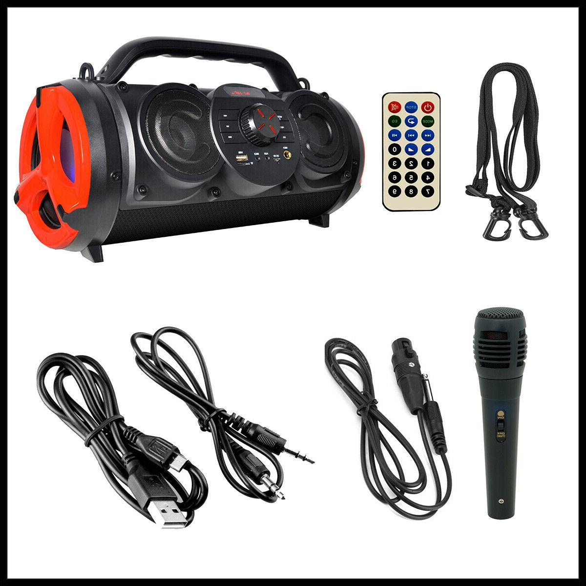 Boytone Portable Bluetooth Boombox Speaker, Indoor/Outdoor Hi-Fi
