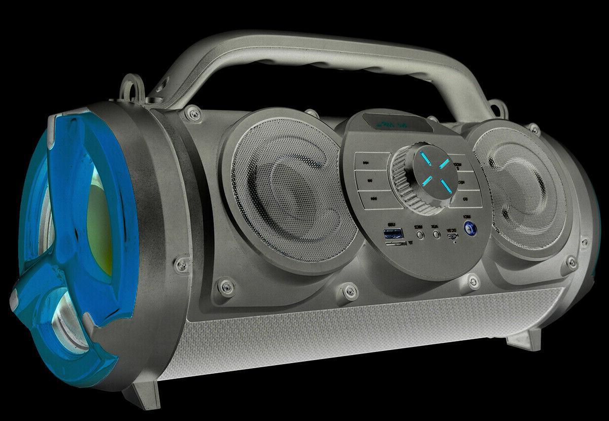 Boytone BT-18RG Boombox Speaker, 2.1 Hi-Fi