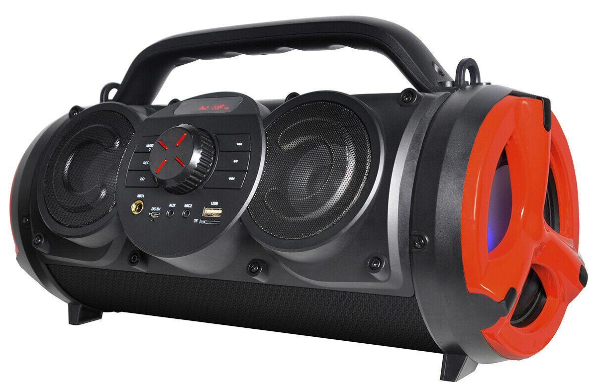 Boytone BT-18RG Portable Boombox Hi-Fi