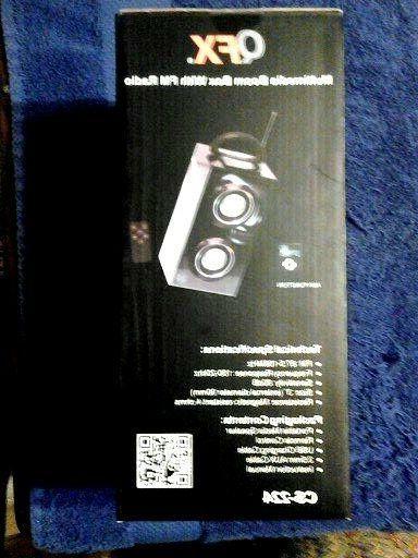 Box with FM REMOTE CONTROL NEW
