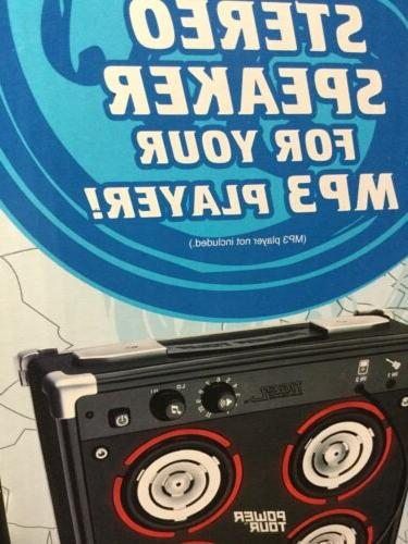 Tiger Electronics Power Tour Amp MP3 Speaker NIB! Sealed!