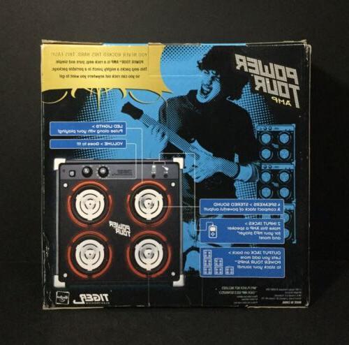 Tiger Electronics Power Tour Amp MP3 NIB! Sealed!