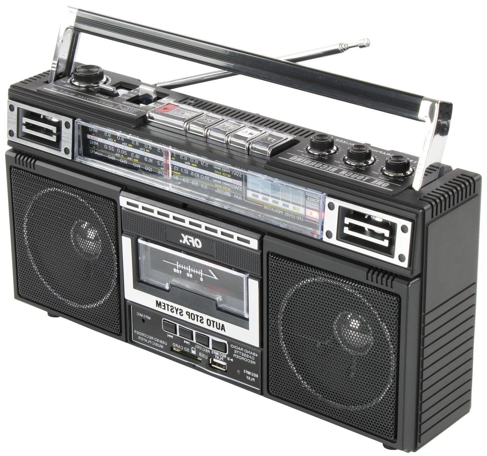 Cassette Player Recorder Converter Boombox