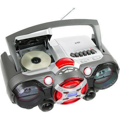 QFX J-50U Bluetooth Radio Cassette Recorder -