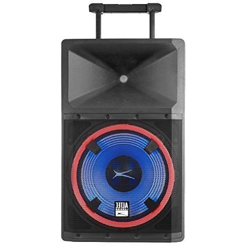 Altec Lansing ALP-L2200PK Lightning Series Powerful Bluetooth 2200 Watt Speaker Party Lights and Built Media Player
