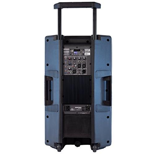 Altec Series Indoor Outoor Powerful Bluetooth Peak Watt Speaker with Lights Media Player