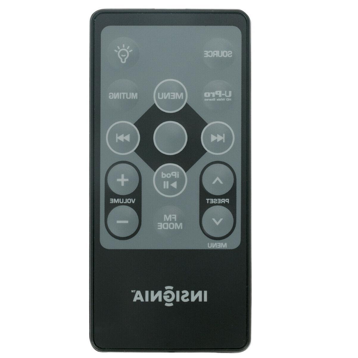 new remote control for insignia boombox ipod