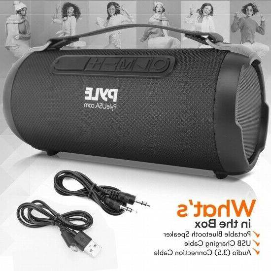 Pyle PBMSPG1BK 200 Watt Rechargeable Wireless Portable Boombox