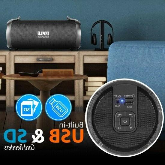 Pyle Portable Bluetooth BoomBox System