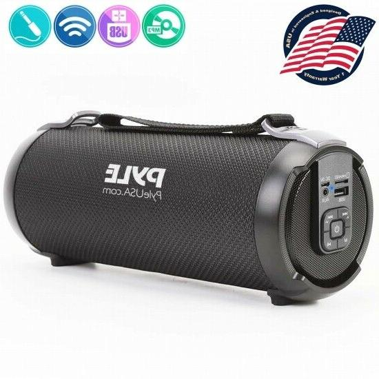 pbmspg3bk wireless and portable bluetooth boombox speaker