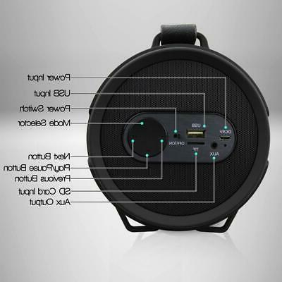 Pyle Portable Wireless BoomBox Speaker