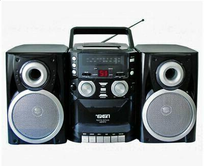 portable cd player boombox with am fm