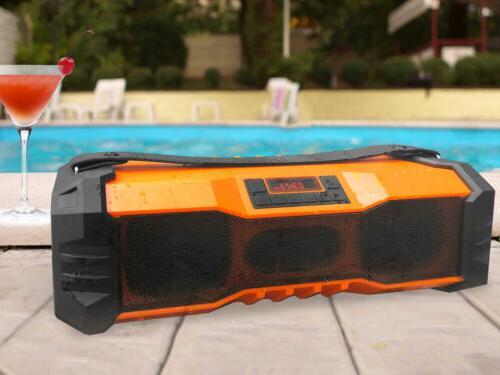 Technical Pro Waterproof Boombox Speaker USB/FM