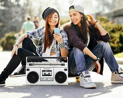 ION Boombox AM/FM - Silver