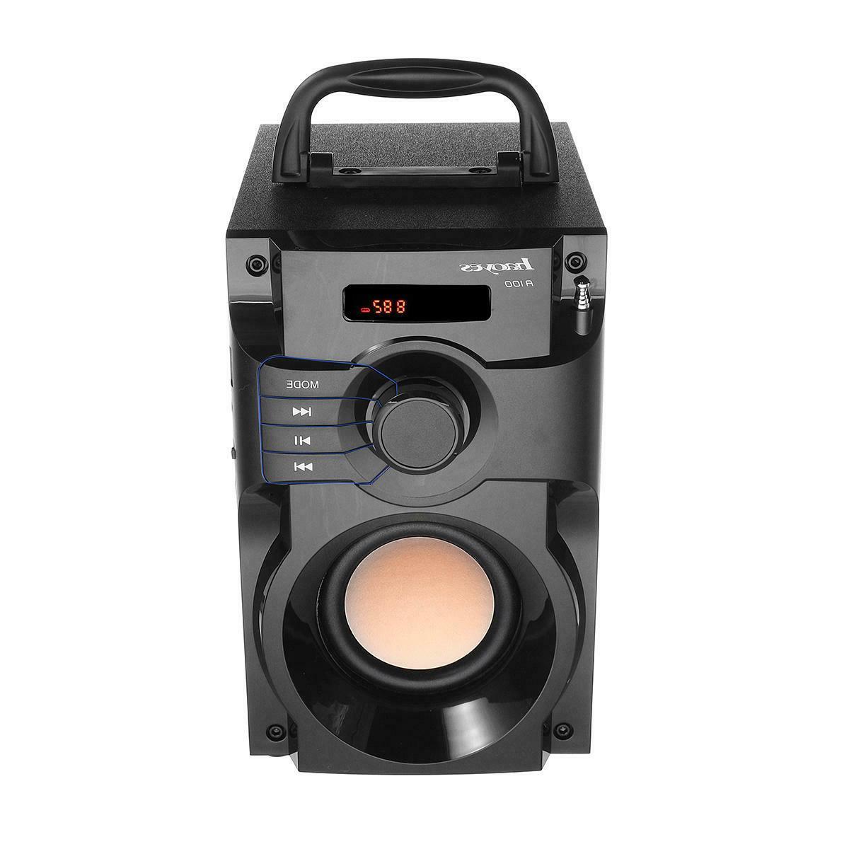 Bass Big Speaker Boombox Sound Box Support
