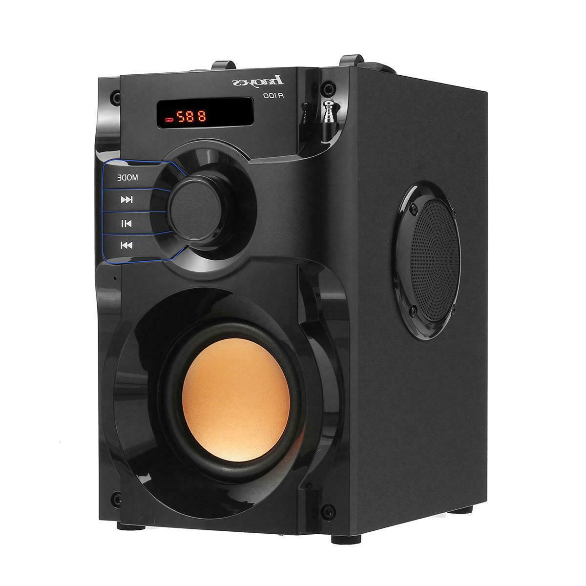 wireless bluetooth subwoofer heavy bass speaker boombox