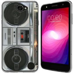 for LG X ChargeClear TPU gel skin phone case cover
