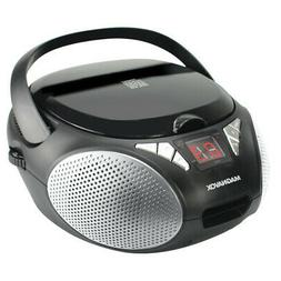 Magnavox MD6924 Portable Top Loading CD Boombox with AM/FM S