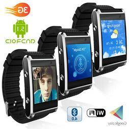1.54-inch SmartWatch & Phone by Indigi - GSM Unlocked - Pedo