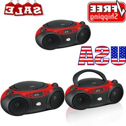 New am/fm cd boom box | gpx boombox player radio with portab
