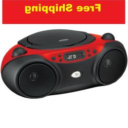 New am/fm cd boom box | gpx boombox player radio with portab