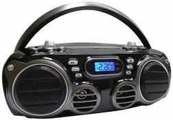 New Sylvania Bluetooth Portable Stereo Boombox CD Player AM/