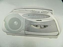 NEW! GPX Cassette Boombox AM-FM Radio Cassette Player and Re