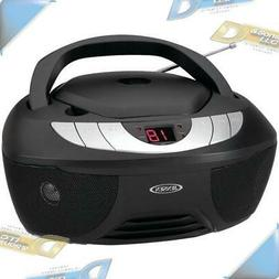 NEW JENSEN Portable Stereo Boombox Stereo CD Player with AM/